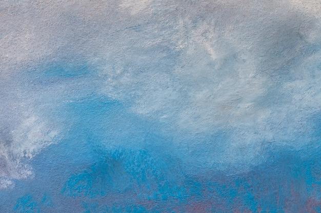 抽象芸術の背景水色とターコイズ色 Premium写真