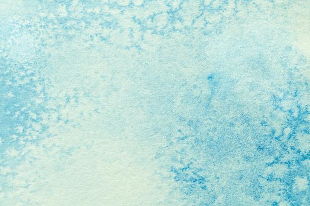 抽象芸術の背景水色とターコイズ色。 Premium写真