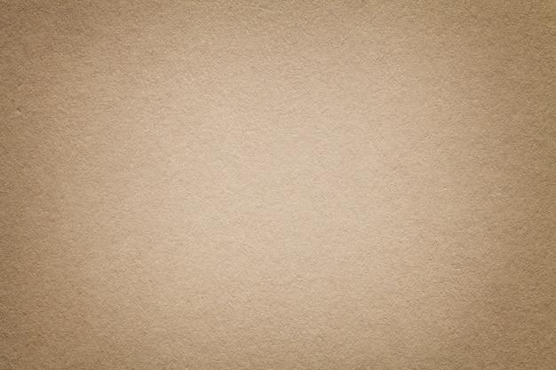古い光の茶色の紙の背景のテクスチャ Premium写真