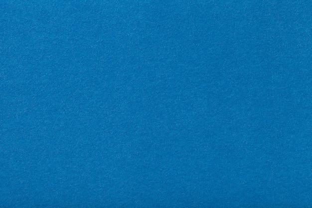 ライトブルーのマットスエード生地。フェルトの背景のビロードのテクスチャ Premium写真