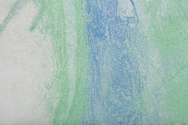Абстрактное искусство фон зеленый и синий цвет Premium Фотографии