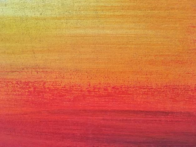 抽象芸術の背景の赤とオレンジ色。 Premium写真
