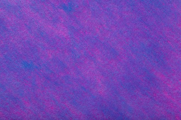 フェルト生地の紫色。ウール織物のテクスチャ Premium写真