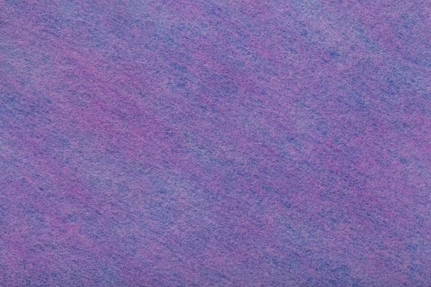 フェルト生地の暗い紫と紫の背景 Premium写真
