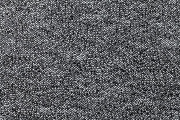 灰色の繊維の背景のクローズアップ Premium写真