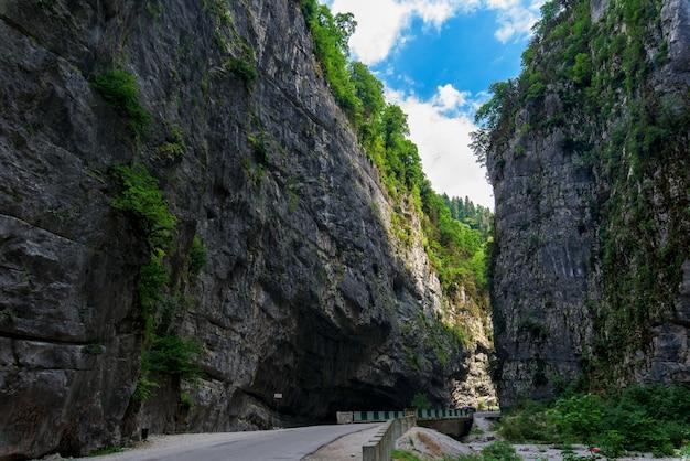 アブハジアの渓谷 Premium写真