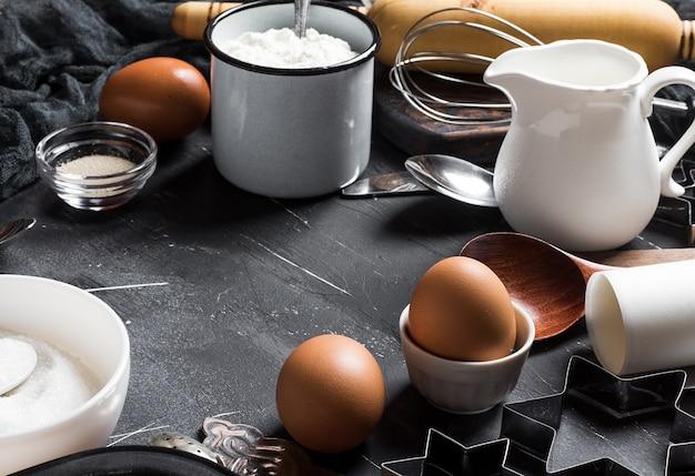 調理のための調理材料 無料写真