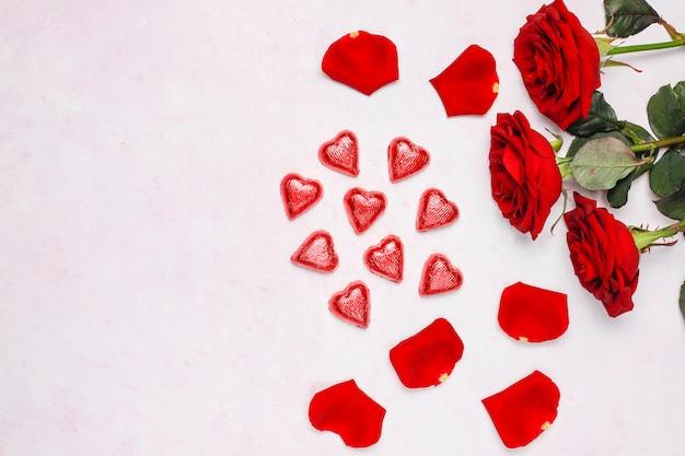 Валентинка с розами Бесплатные Фотографии