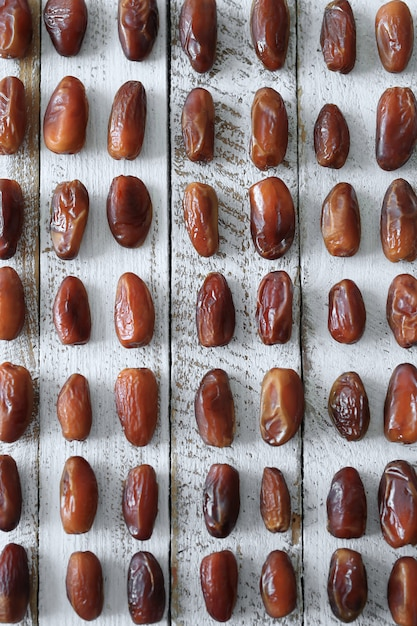 Вкусные свежие органические финики Бесплатные Фотографии