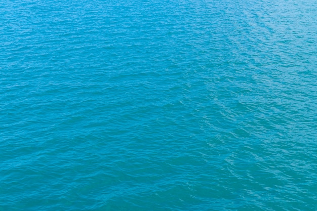 海の水の背景テクスチャで抽象的な青い水 無料写真