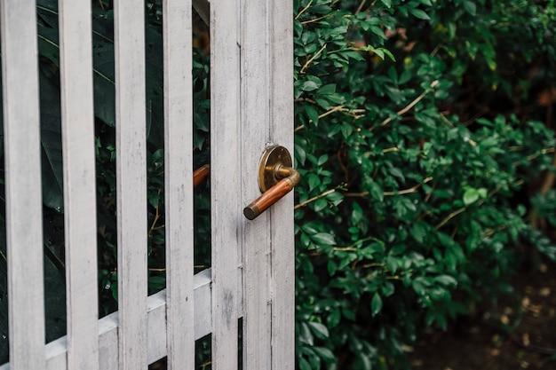 家の様式のための旧式なドアそしてハンドル 無料写真