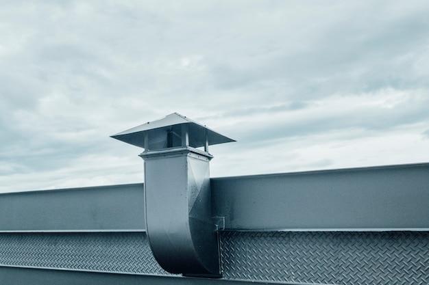 金属製煙突 無料写真