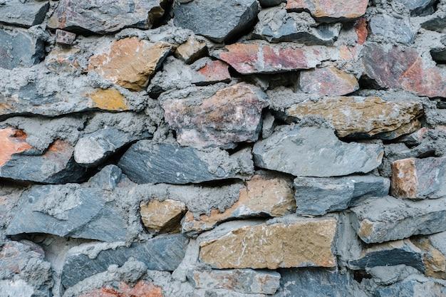 岩のテクスチャ壁の背景 無料写真