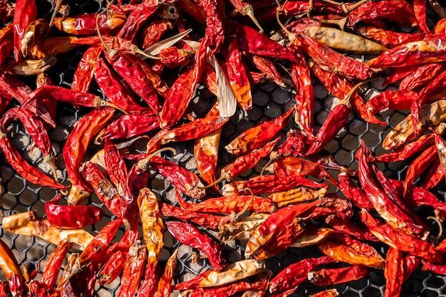 Красный сухой перец чили Бесплатные Фотографии