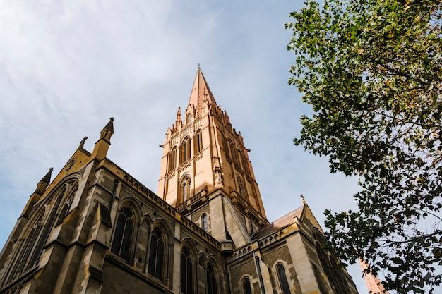メルボルンのセントポール古典的な教会 無料写真