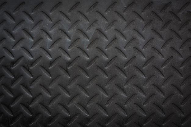 ブラックダイヤモンドプレート。 無料写真