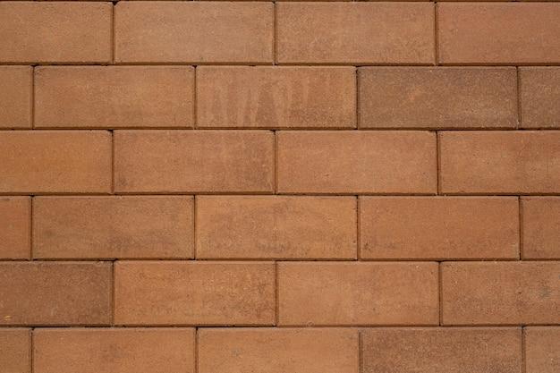 茶色のブロックレンガ。 無料写真
