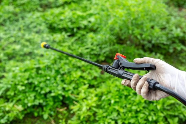 庭師が吹きかけています。 無料写真