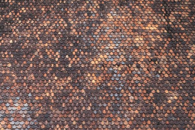 Старая коричневая черепица узор фона текстура Бесплатные Фотографии
