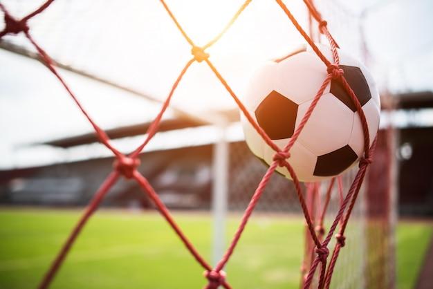 目標達成のコンセプトへのサッカー 無料写真