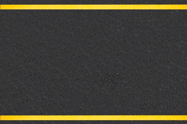 舗装道路の背景上のトラフィックの線 無料写真