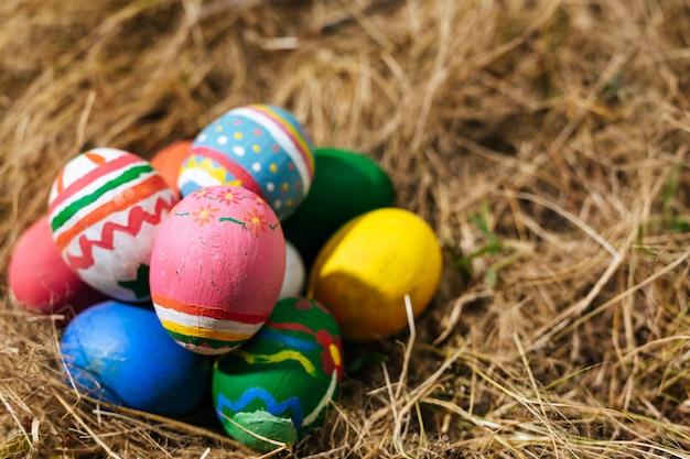 復活祭の卵祭り。 無料写真