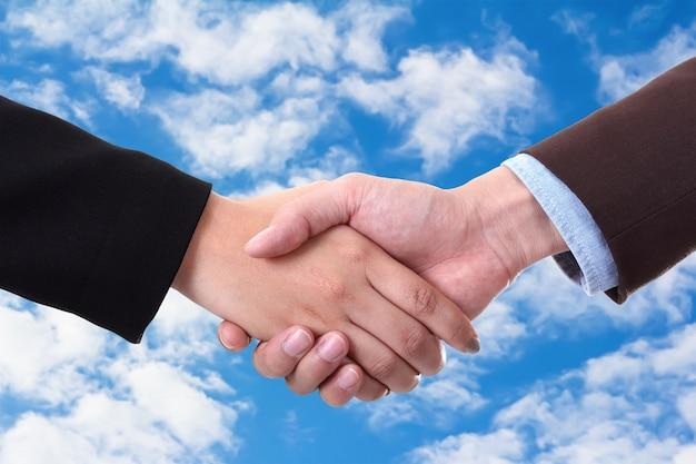 握手矢量图_空と握手 写真素材 | 無料ダウンロード