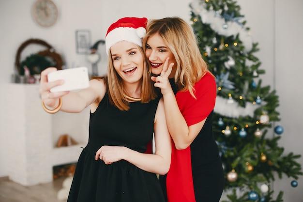 美容クリスマス 無料写真