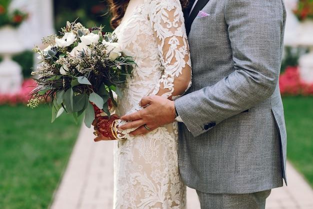 エレガントなインドの結婚式 無料写真