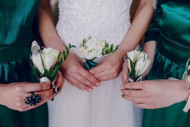花とハンズ 無料写真