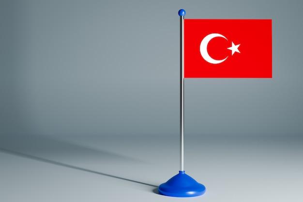 Флаг пустого стола Premium Фотографии