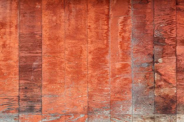 茶色の垂直木製壁のクローズアップ Premium写真