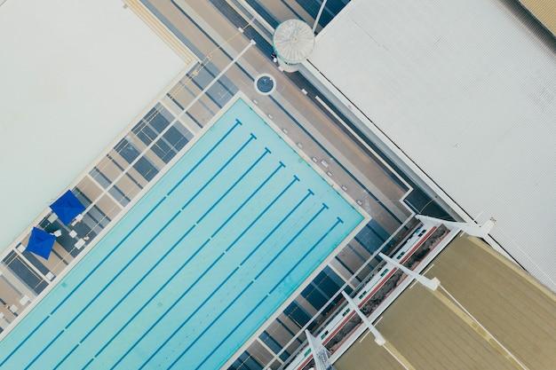 Вид сверху спортивного центра Бесплатные Фотографии