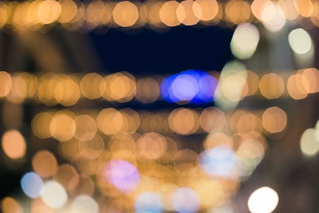 Праздничный фон с светлыми пятнами и на боке Premium Фотографии