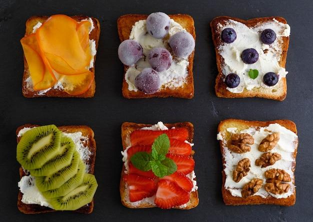 カッテージチーズのフレンチトースト Premium写真