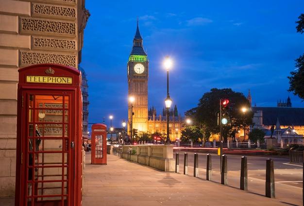 Биг бенбиг бен и вестминстерское аббатство в лондоне, англия Premium Фотографии