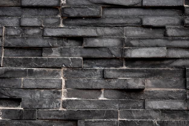 黒い四角形の正方形のタイルの背景 Premium写真