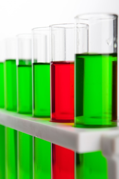化学コンセプトのラボラボチューブ Premium写真