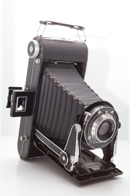 スタジオでビンテージとレトロなカメラ Premium写真