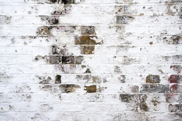 汚れたレンガの壁 Premium写真