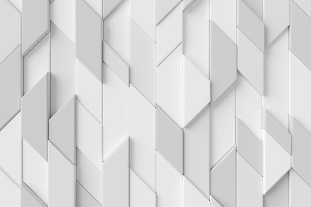 モダンなタイル壁の抽象的な背景 Premium写真