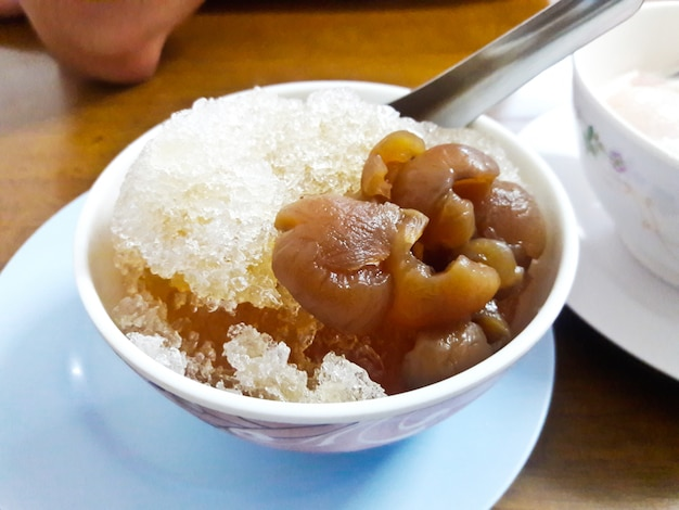 фото тайского десерта со льдом холла это, если
