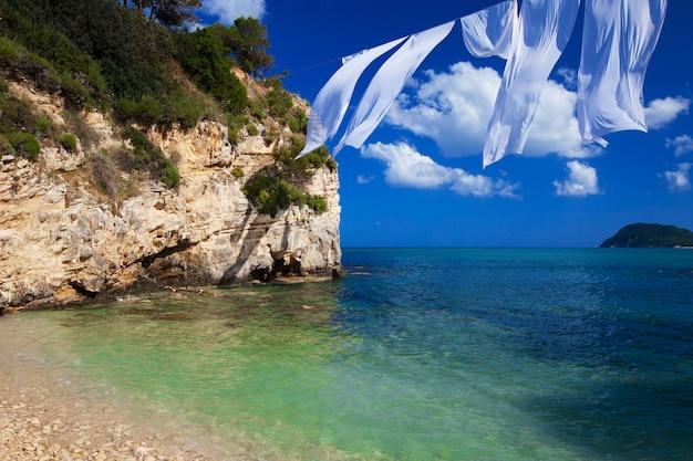 Агиос состис на острове закинф Premium Фотографии