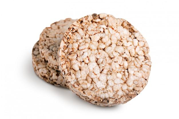 Зерновые хрустящие хлебцы Premium Фотографии