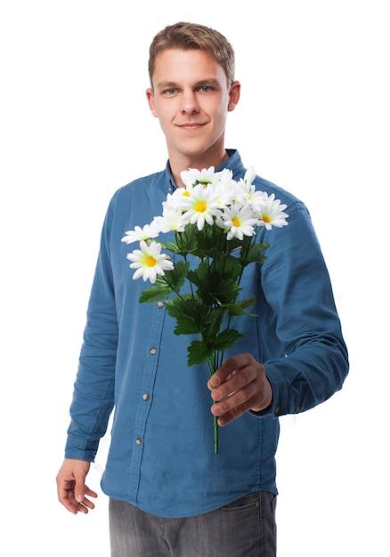Мужики с цветами фото