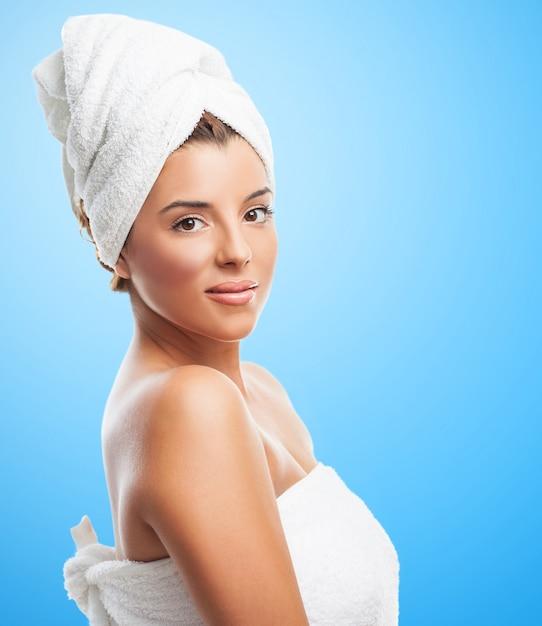 женщина в полотенце - 3