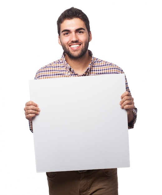 Картинки с плакатами в руках
