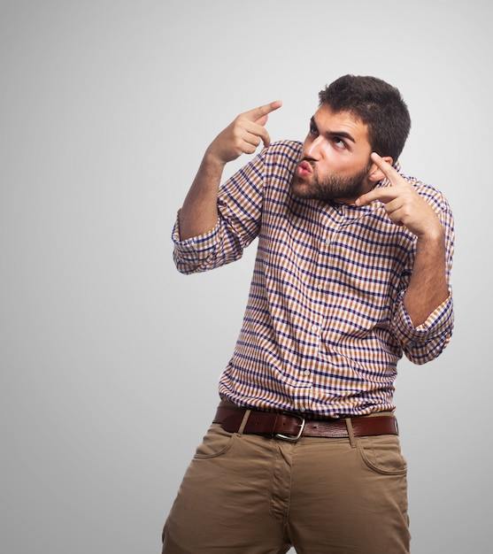 Фон несчастное лицо рука жестикуляция Бесплатные Фотографии
