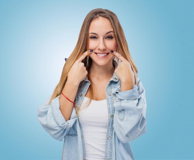 Женщина улыбается Бесплатные Фотографии