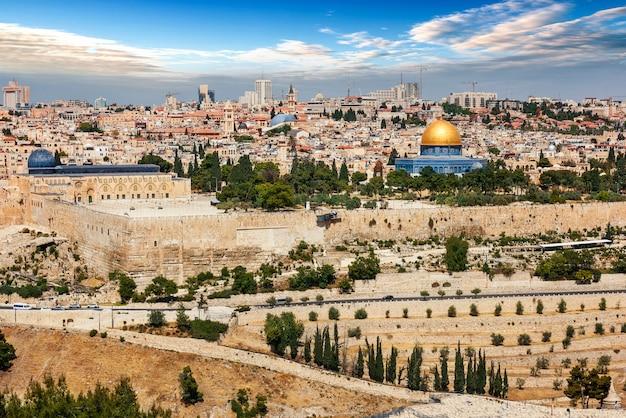 イスラエルのエルサレム市 Premium写真